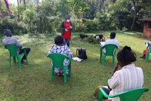 The Water Project: Shirakala Community, Ambani Spring -  Ongoing Sensitization Training