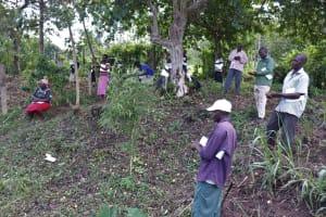 The Water Project: Ewamakhumbi Community, Yanga Spring -  Handwashing Practice