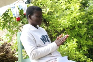 The Water Project: Lutali Community, Lukoye Spring -  Handwashing Demonstration