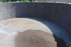 The Water Project: Kapsaoi Primary School -  Cement And Plaster Work Inside Tank