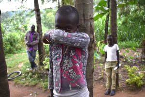 The Water Project: Bukhakunga Community, Ngovilo Spring -  This Is How One Should Sneeze Or Cough