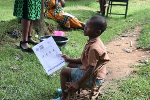 The Water Project: Lutali Community, Lukoye Spring -  Little Boy Was Keenly Listening In