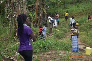 The Water Project: Emukoyani Community, Ombalasi Spring -  Training At Ombalasi Spring