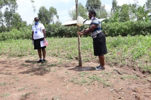 The Water Project: Shitoto Community, Abraham Spring -  Handwashing Demonstration