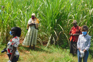 The Water Project: Emulembo Community, Gideon Spring -  Training