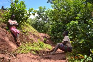 The Water Project: Shikhombero Community, Atondola Spring -  Social Distancing