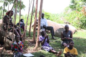 The Water Project: Shirugu Community, Shapaya Mavonga Spring -  Praticing Handwashing Steps