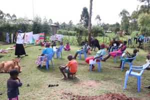 The Water Project: Elutali Community, Obati Spring -  Encouraging Greetings From Afar