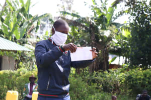 The Water Project: Eluhobe Community, Amadi Spring -  Make A Mask From Home And Use It Everywhere
