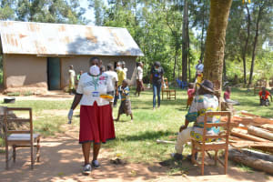 The Water Project: Munenga Community, Burudi Spring -  Through With Training Onto The Next Community