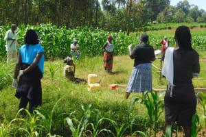 The Water Project: Sichinji Community, Kubai Spring -  Training
