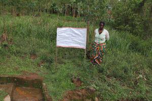 The Water Project: Irungu Community, Irungu Spring -  Caution Chart Installed Next To The Spring