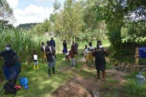 The Water Project: Bukhaywa Community, Ashikhanga Spring -  Training Session