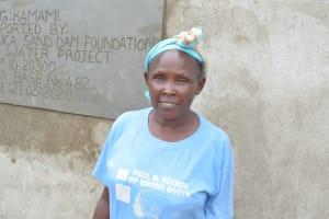 The Water Project: Kasioni Community B -  Emily Mbiti