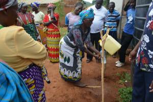 The Water Project: Kasioni Community B -  Handwashing