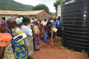 The Water Project: Kasioni Community B -  Handwashing Demonstration