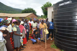 The Water Project: Kasioni Community B -  Handwashing Lesson