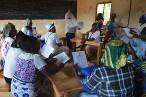 The Water Project: Kasioni Community B -  Training Groups