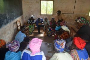 The Water Project: Kasioni Community B -  Training