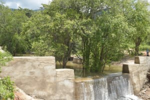The Water Project: Kasioni Community B -  Complete Sand Dam