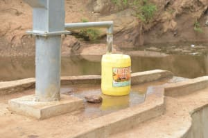 The Water Project: Mbitini Community A -  Complete Well