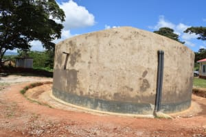 The Water Project: Kavyuni Salvation Army Primary School -  Complete Water Tank