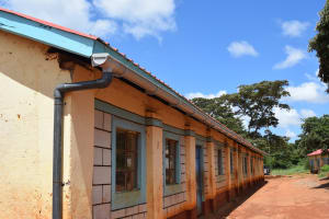 The Water Project: Kavyuni Salvation Army Primary School -  Gutters