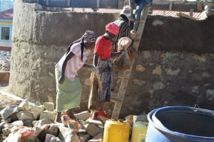 The Water Project: Kavyuni Salvation Army Primary School -  Wall Construction