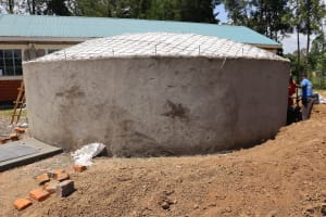 The Water Project: Friends School Vashele Secondary -  Dome Construction
