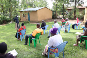 The Water Project: Shitungu Community, Hessein Spring -  Social Distanced Participants