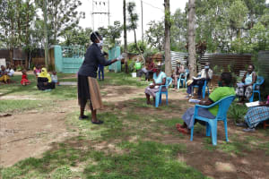 The Water Project: Masera Community, Salim Hassan Spring -  Training In Session