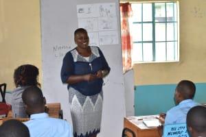 The Water Project: Ebubole UPC Secondary School -  Trainer Emmah