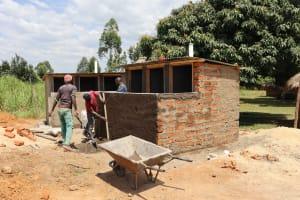The Water Project: Friends School Vashele Secondary -  Latrine Construction