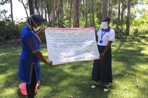 The Water Project: Lwesero Community, Emukoko Spring -
