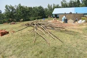 The Water Project: Ebubole UPC Secondary School -  Construction Materials