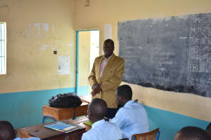 The Water Project: Ebubole UPC Secondary School -  School Board Of Management Chair Attended Too