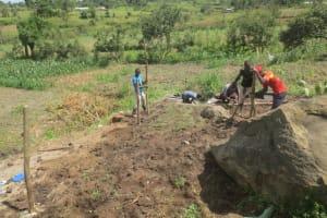 The Water Project: Mahira Community, Kusimba Spring -  Fencing