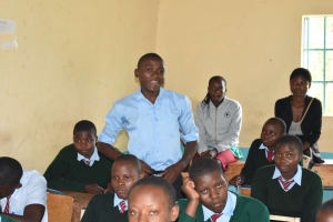 The Water Project: Ebubole UPC Secondary School -  Expressing His Views