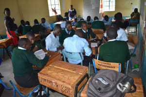 The Water Project: Ebubole UPC Secondary School -  Group Discussion