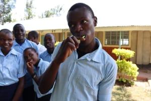 The Water Project: Friends School Vashele Secondary -  Dental Hygiene Volunteer