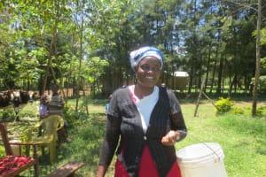 The Water Project: Mahira Community, Jairus Mwera Spring -  Susy Juma
