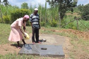 The Water Project: Mahira Community, Kusimba Spring -  Sanplat Curing