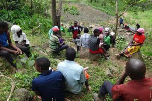 The Water Project: Mahira Community, Kusimba Spring -  Facilitator Conducts Training