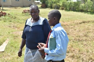 The Water Project: Ebubole UPC Secondary School -  Dental Hygiene Practicals
