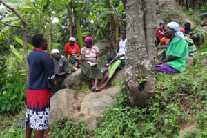 The Water Project: Mahira Community, Kusimba Spring -  Participants At The Training