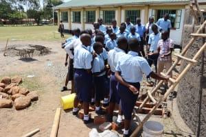 The Water Project: Friends School Vashele Secondary -  Tank Maintenance Training