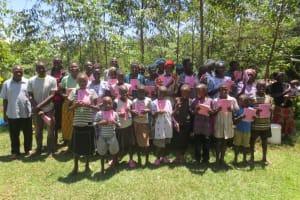 The Water Project: Mahira Community, Jairus Mwera Spring -  Participants Posing After Training