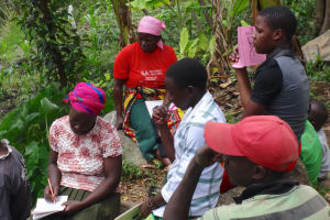 The Water Project: Mahira Community, Kusimba Spring -  Taking Notes