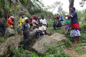 The Water Project: Mahira Community, Kusimba Spring -  Training In Session