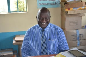The Water Project: Ebubole UPC Secondary School -  Principal Mr Lutomia